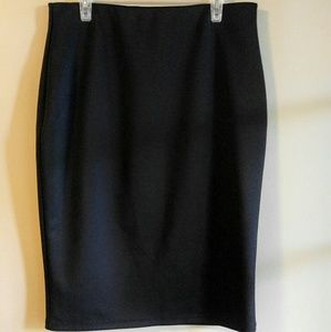 Apt 9 Black Pencil Skirt